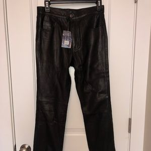 Ralph Lauren Genuine Leather Pants